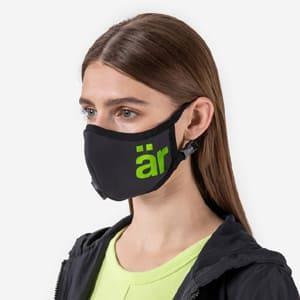 är Big Logo Neon Green Antiviral Face Mask